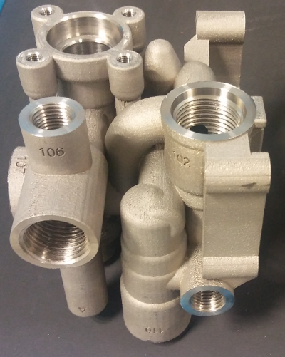 Hydraulic Block additively manufactured © IK4-Lortek