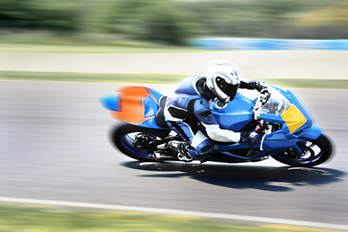 Motorbike in Action © MTC